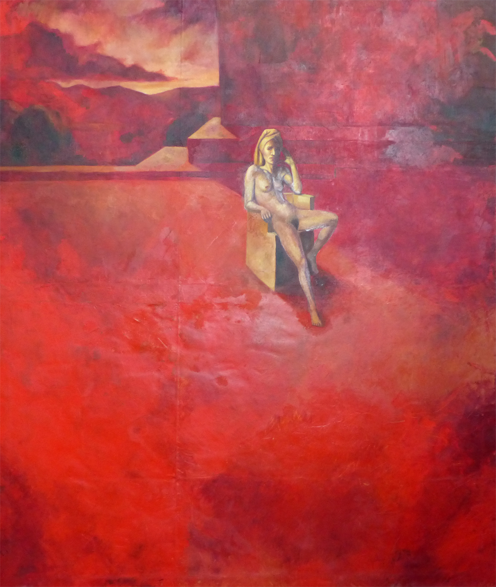 The red nude