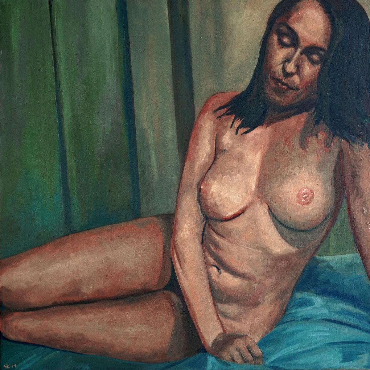 Sitting Nude (Tatiana)